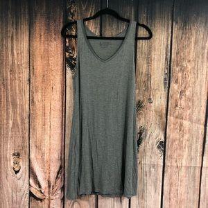 Felina Gray Sleeveless Night Gown Size Large